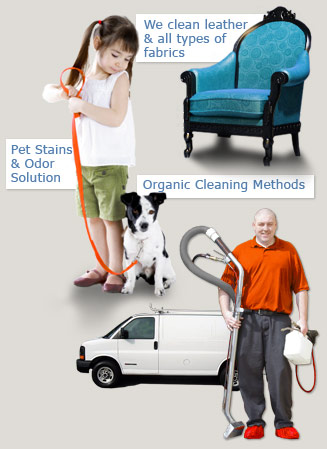upholstery stain & odor removal